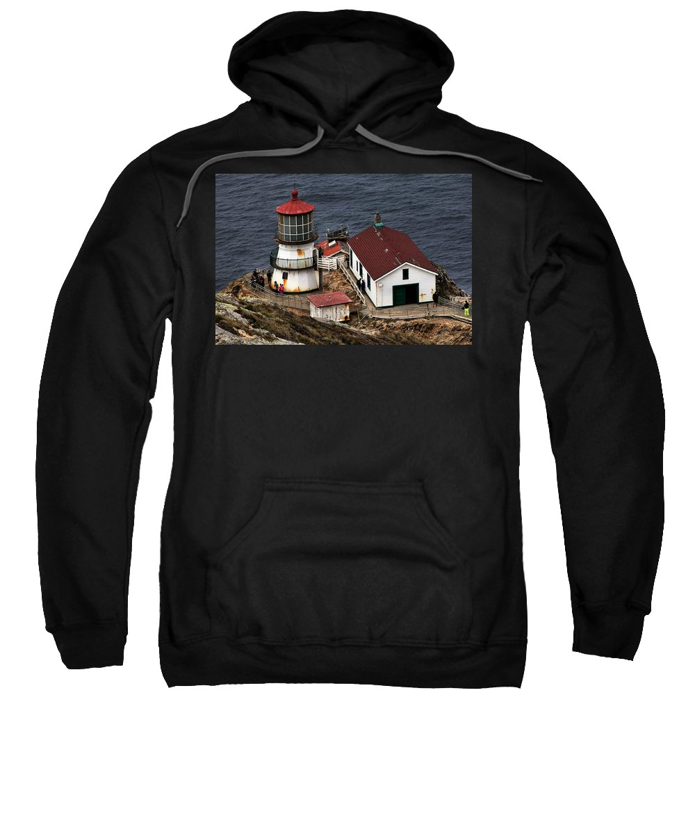 Point Reyes Sweatshirt featuring the photograph Point Reyes 1 by Michael Gordon