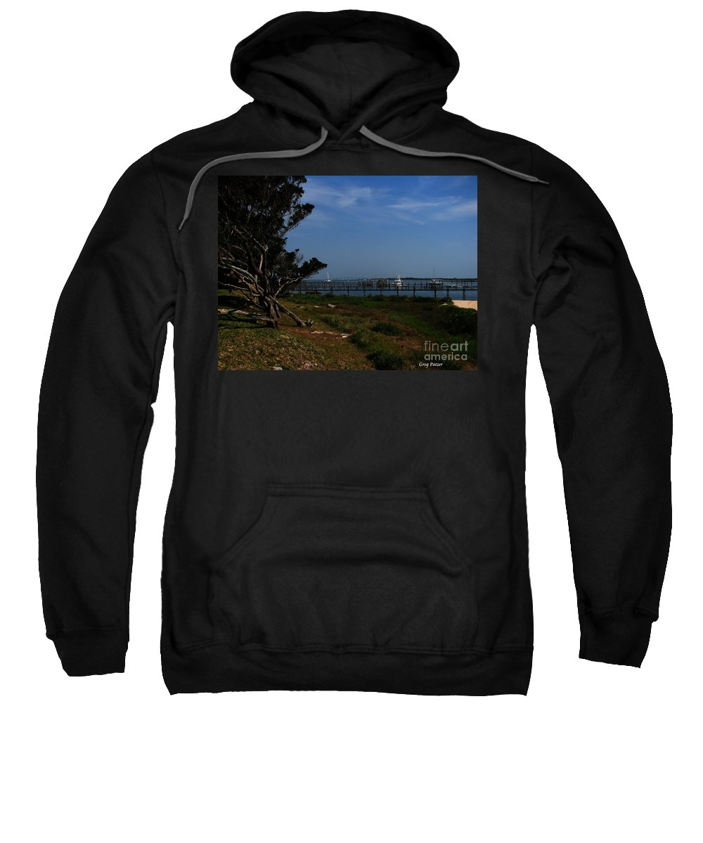 Art For The Wall...patzer Photography Sweatshirt featuring the photograph Ponce De Leon by Greg Patzer