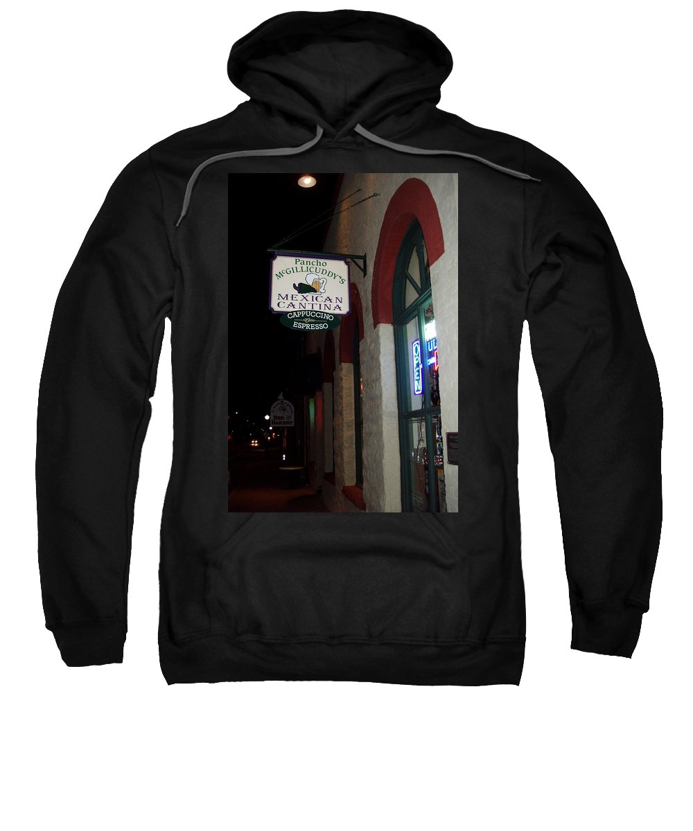 Restaurant Sweatshirt featuring the photograph Poncho Mcgillicuddys by Wayne Potrafka