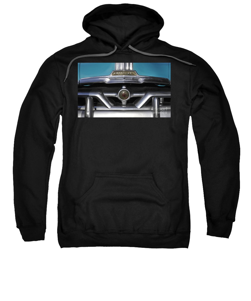 Antic Sweatshirt featuring the photograph Pontiac Grill by David Lee Thompson