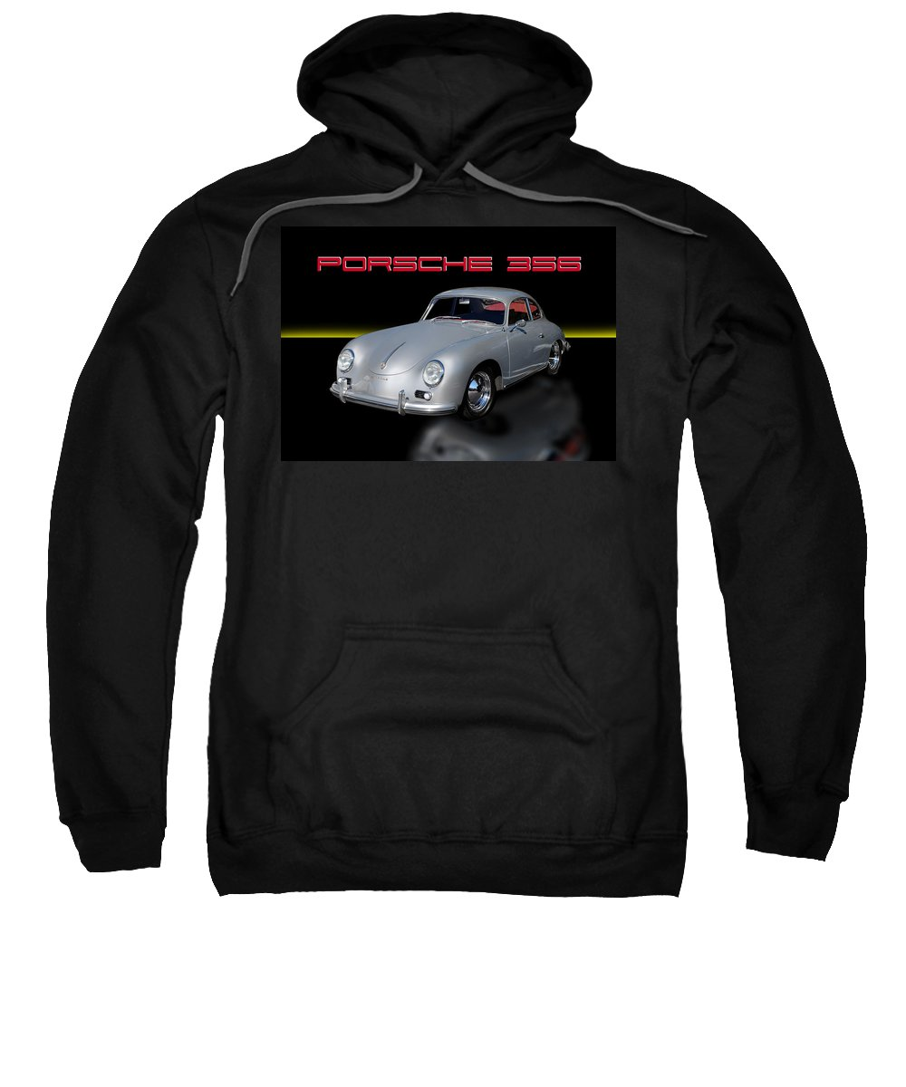 Porsche 356 Sweatshirt featuring the photograph Porsche 356 by Joseph LaPlaca