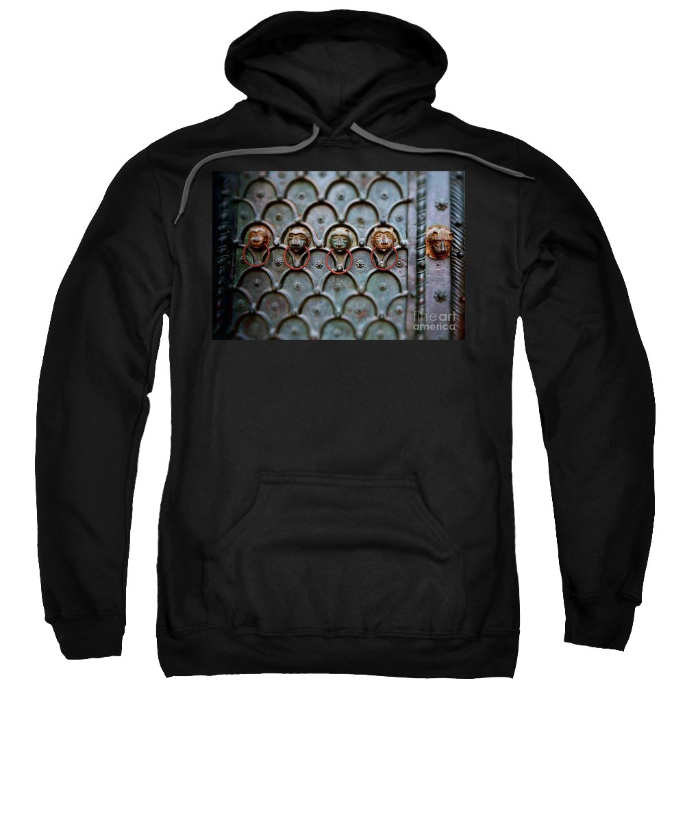 Sweatshirt featuring the photograph Porta by Gabrielle Oshiro