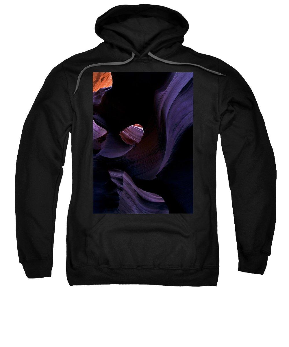 Desert Sweatshirt featuring the photograph Portal by Mike Dawson