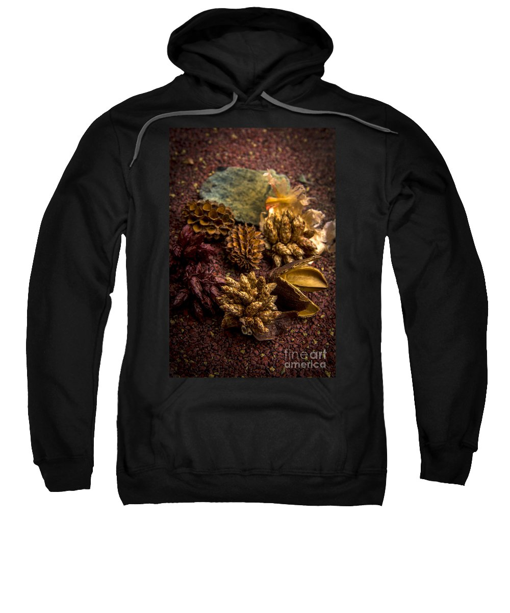 Abundance Sweatshirt featuring the photograph Potpourri by Bernard Jaubert
