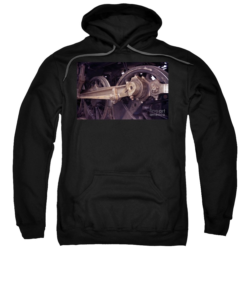 Trains Sweatshirt featuring the photograph Power Train by Richard Rizzo