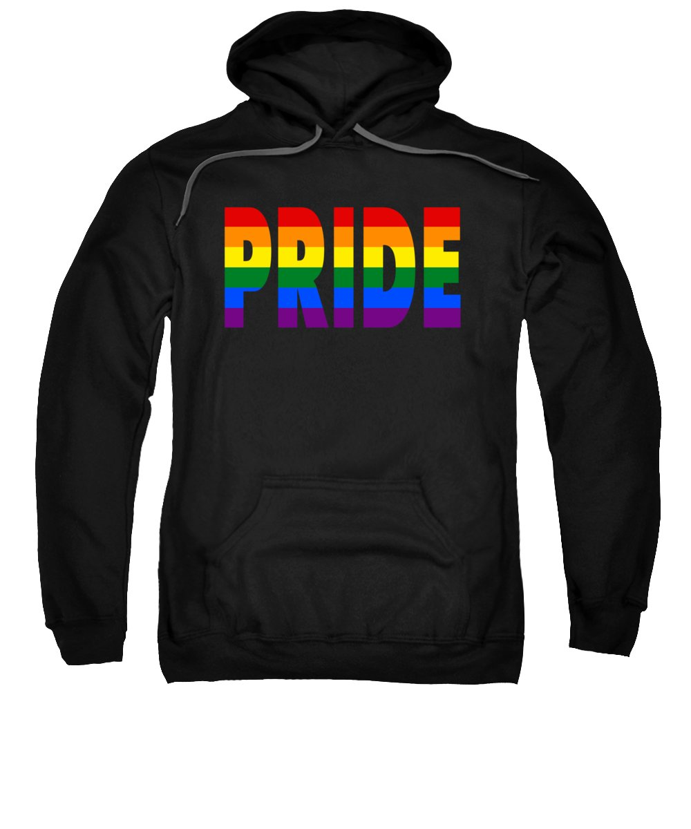 The Witcher Sweatshirt featuring the digital art Pride by Lobito Caulimon