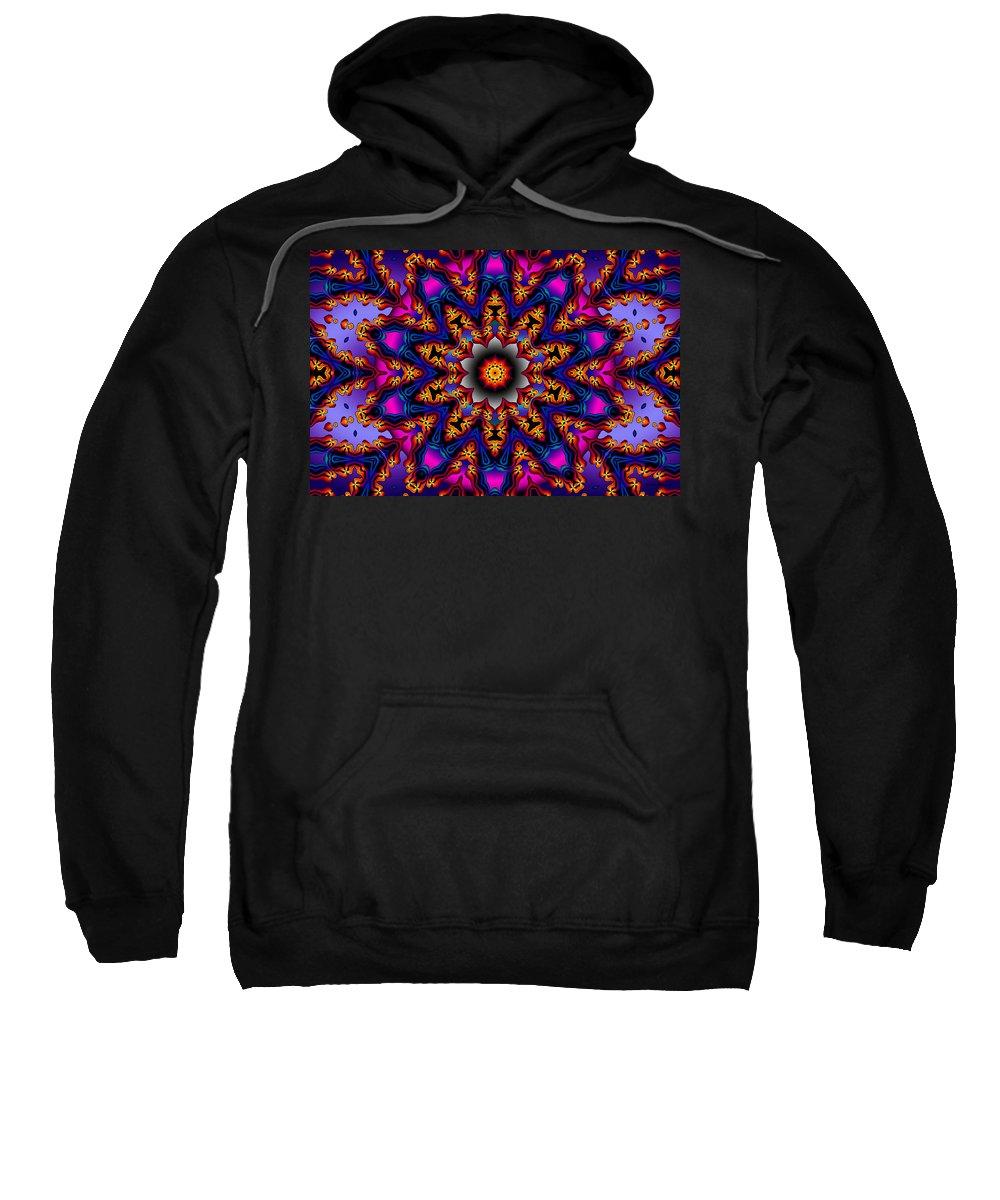 Design Sweatshirt featuring the digital art Prime Time by Robert Orinski