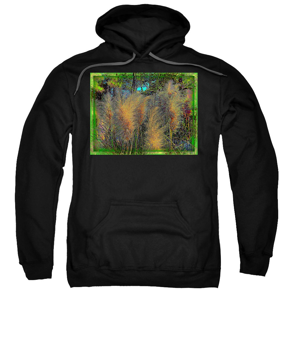 Nature Sweatshirt featuring the photograph Primordial Plain by Leslie Revels