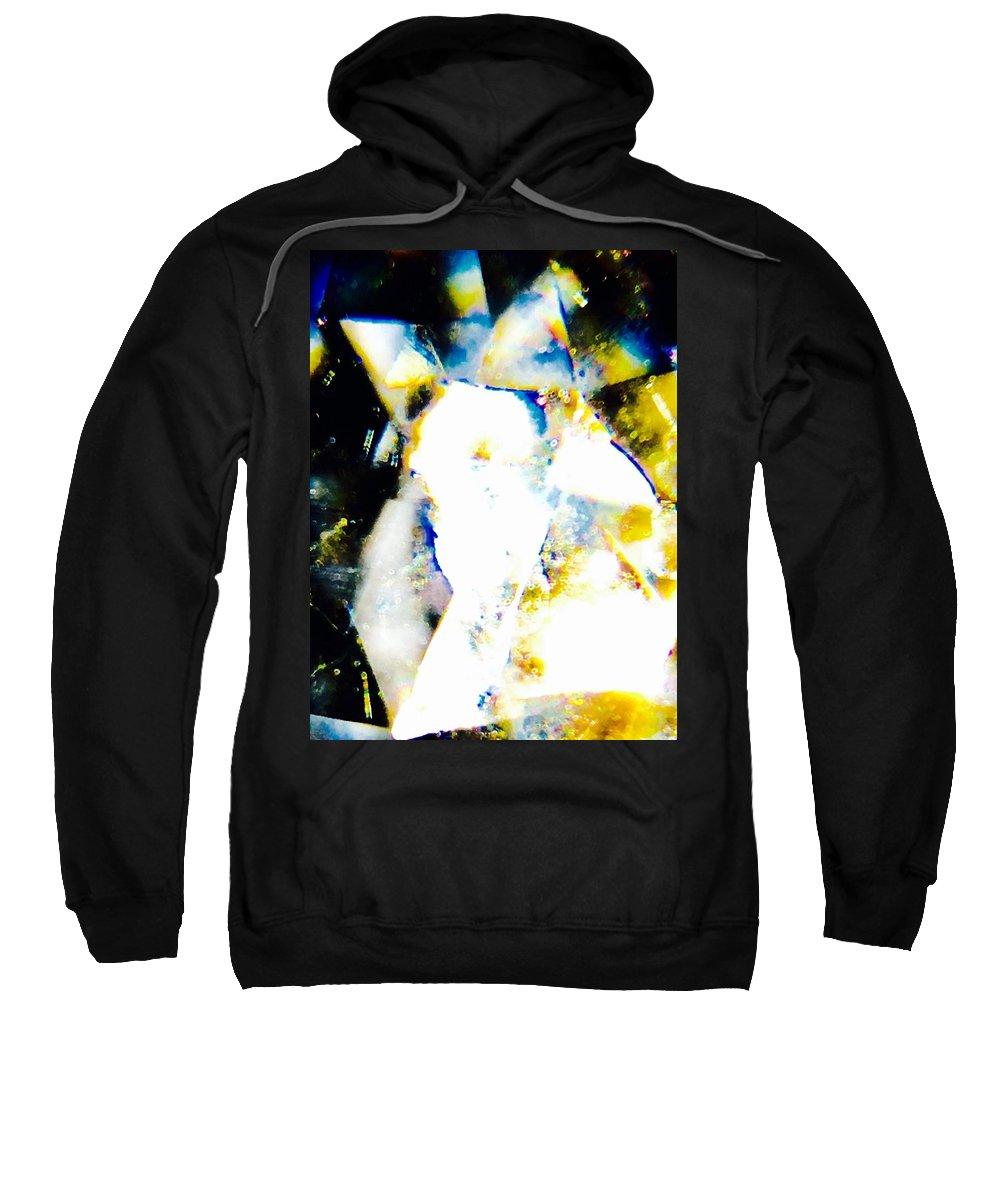 Prismatic Sweatshirt featuring the photograph Prismatic, Three by Ishtar Stillmank