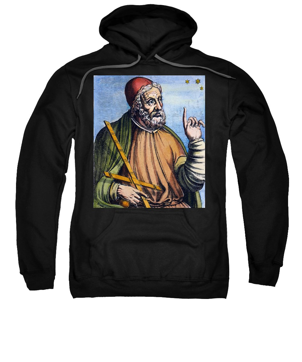 2nd Century Sweatshirt featuring the photograph Ptolemy (2nd Century A.d.) by Granger