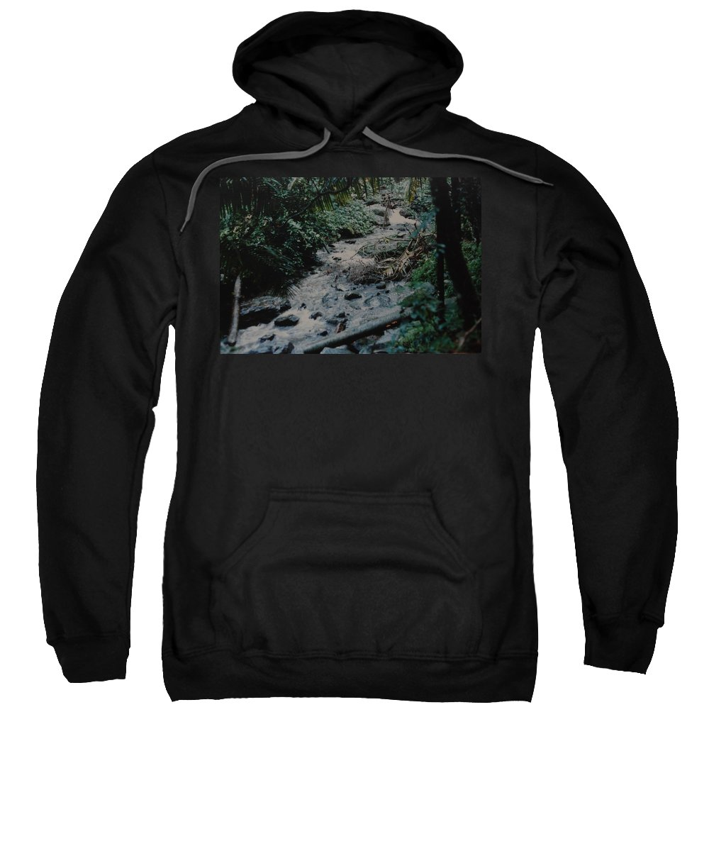 Trees Sweatshirt featuring the photograph Puerto Rico Water by Rob Hans