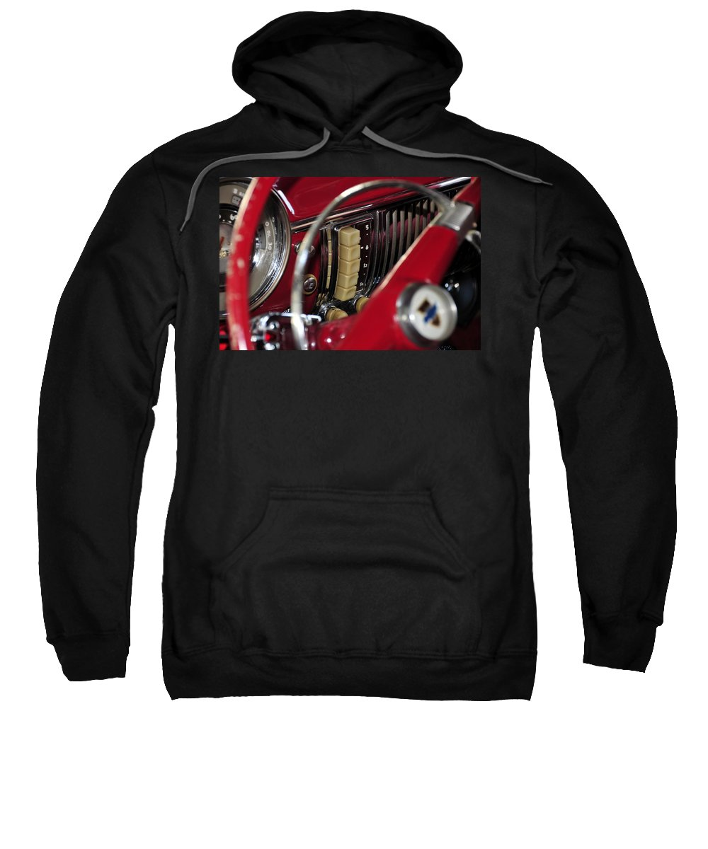 Antic Car Sweatshirt featuring the photograph Push Buttons by David Lee Thompson