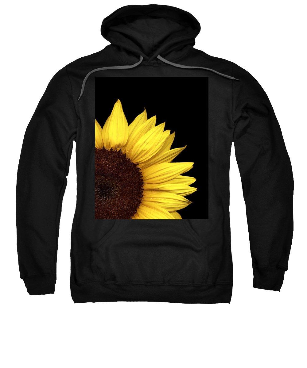 Flower Sweatshirt featuring the photograph Quarter Sun by Marilyn Hunt