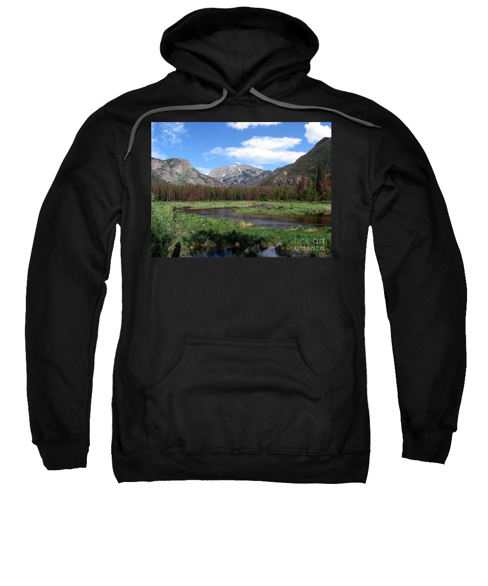 Nature Sweatshirt featuring the photograph Quiet by Amanda Barcon