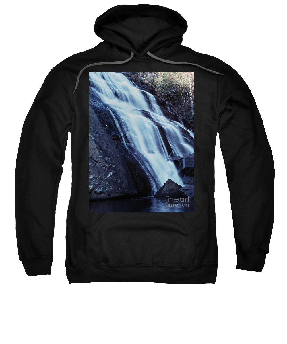 Waterfall Sweatshirt featuring the photograph Rainbow Falls by Richard Rizzo