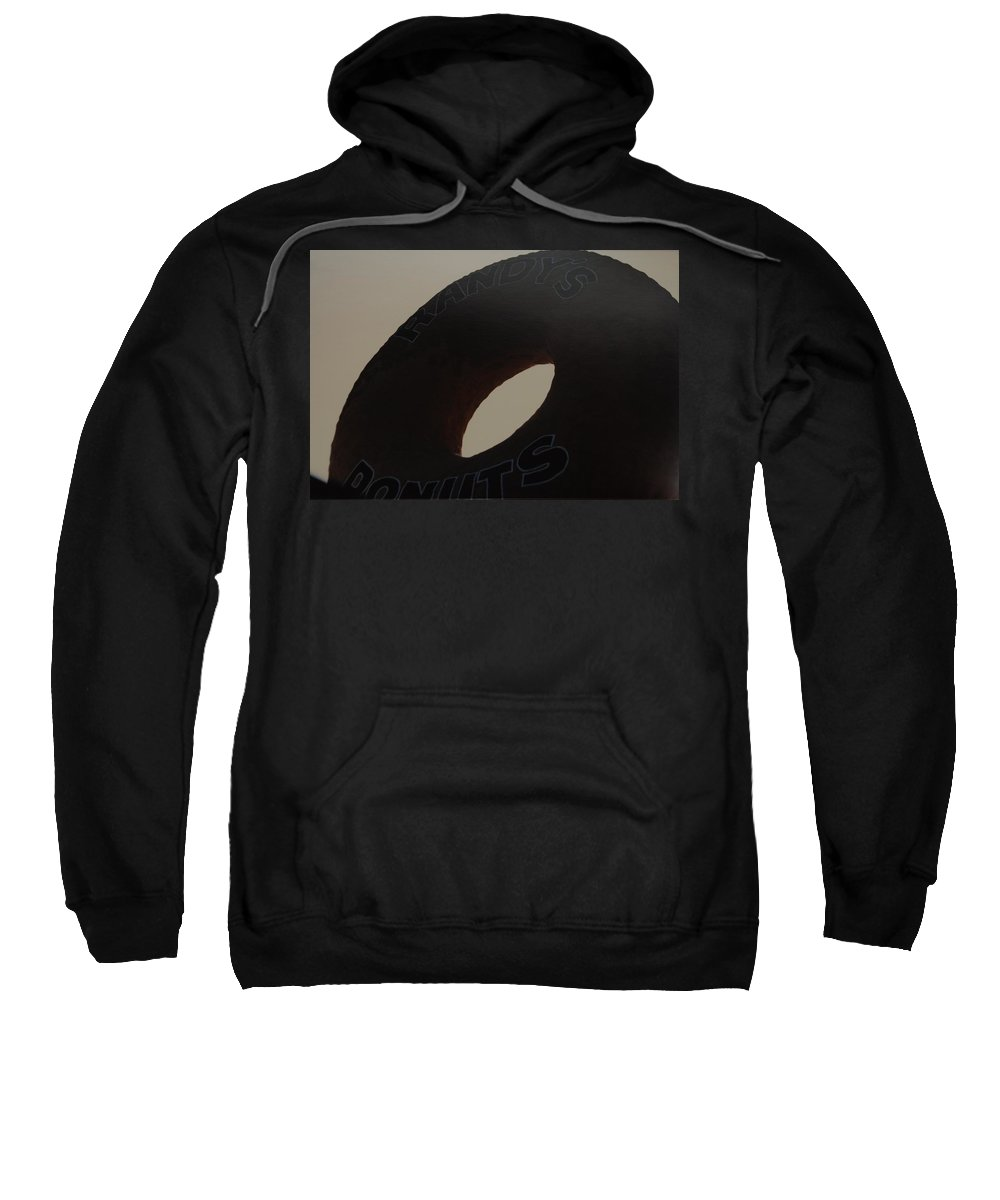 Randys Donuts Sweatshirt featuring the photograph Randys Donuts by Rob Hans