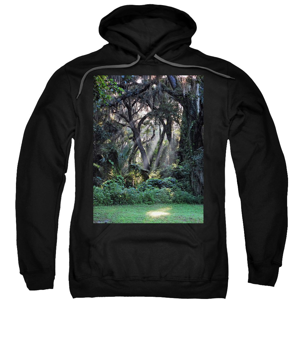 Rays Of Sunlight Sweatshirt featuring the photograph Rays Of Sunlight by Robert Meanor