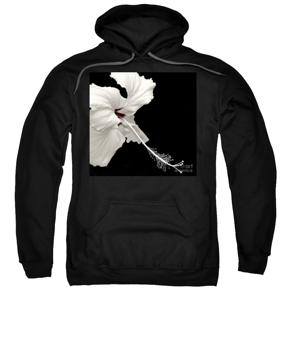 Flower Sweatshirt featuring the photograph Reach Out by Jacky Gerritsen