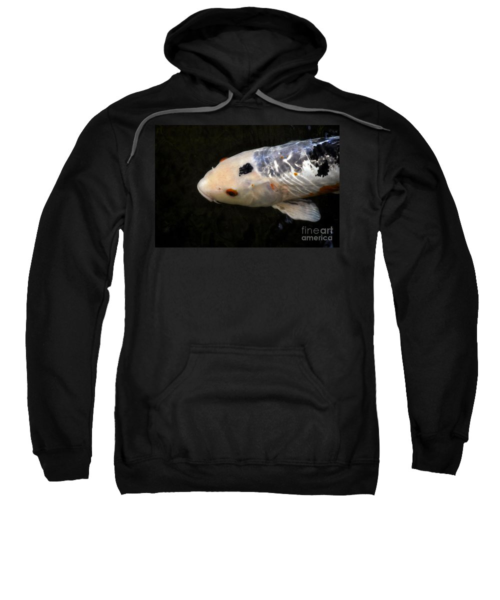 Clay Sweatshirt featuring the photograph Red Eye by Clayton Bruster