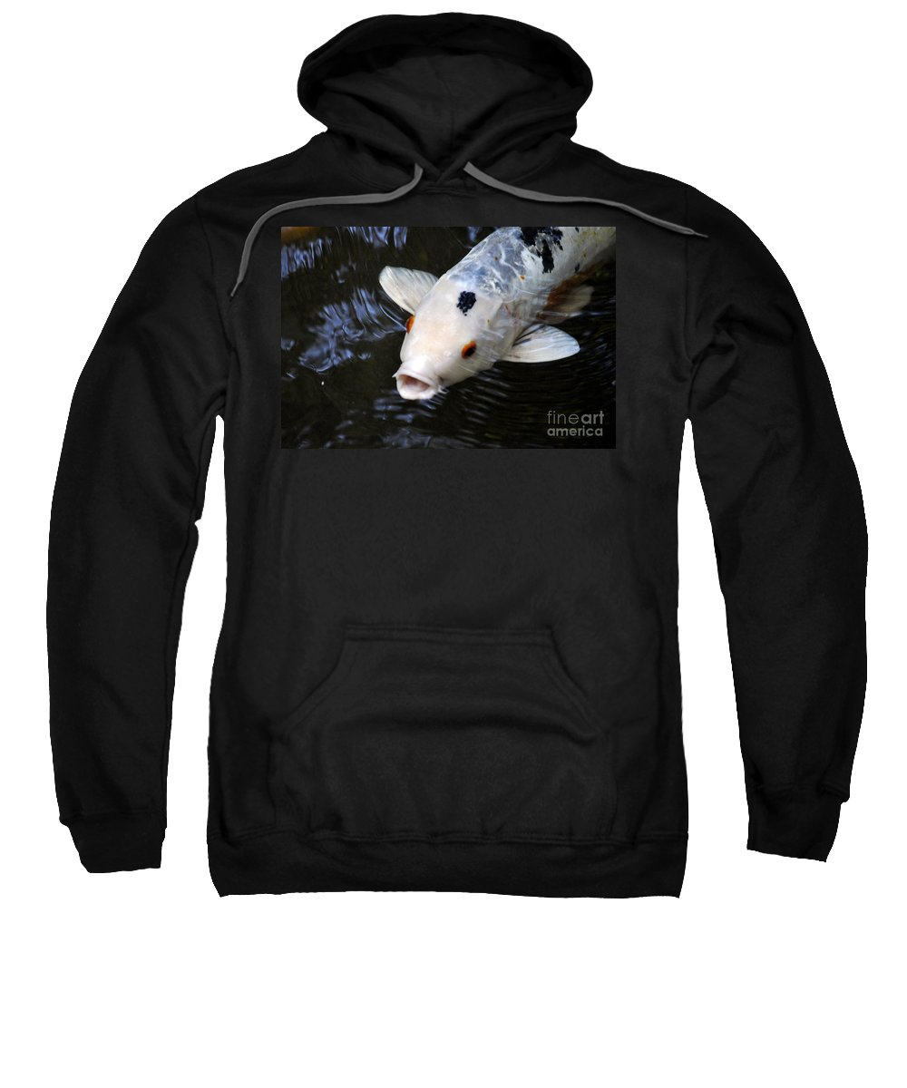 Clay Sweatshirt featuring the photograph Red Eyes by Clayton Bruster