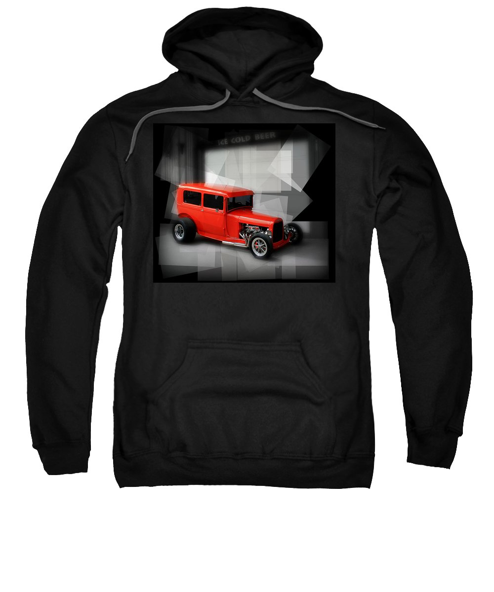 Old Sweatshirt featuring the photograph Red Rod by Perry Webster