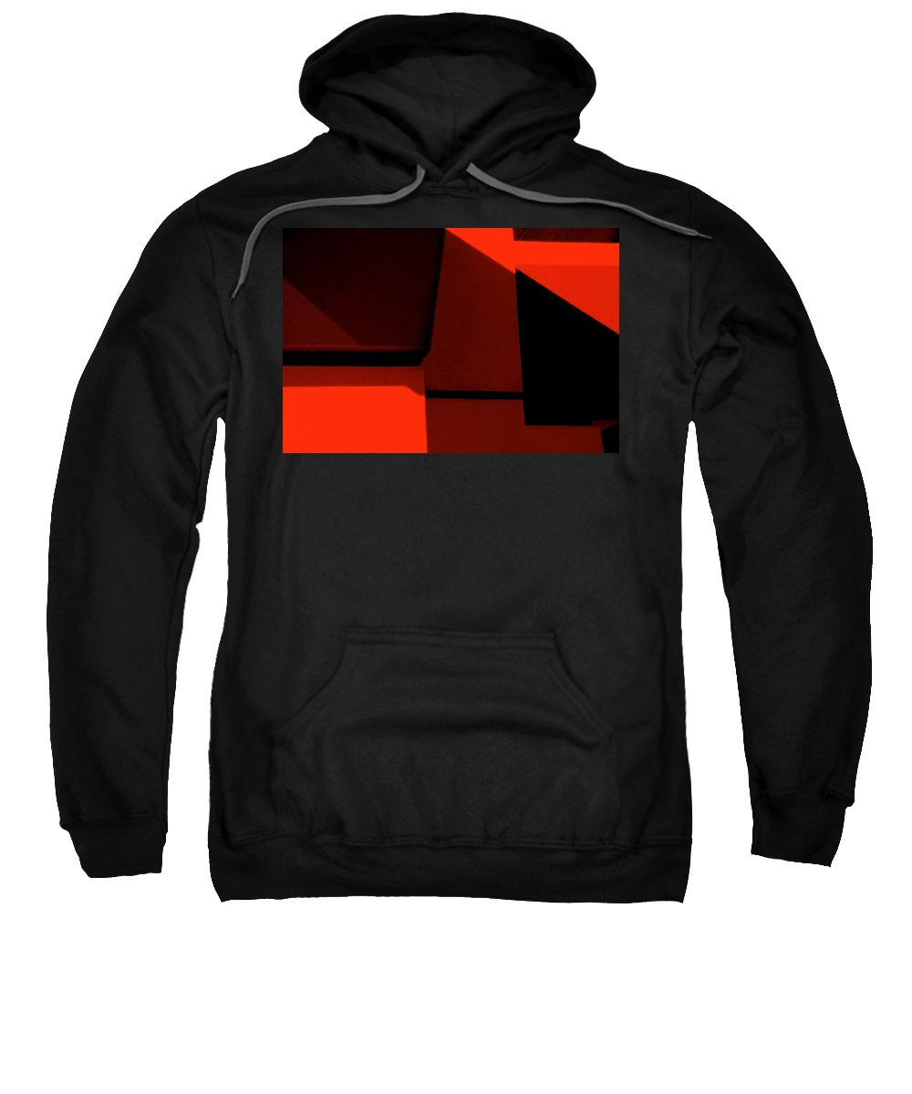 Photography Sweatshirt featuring the photograph RED by Susanne Van Hulst