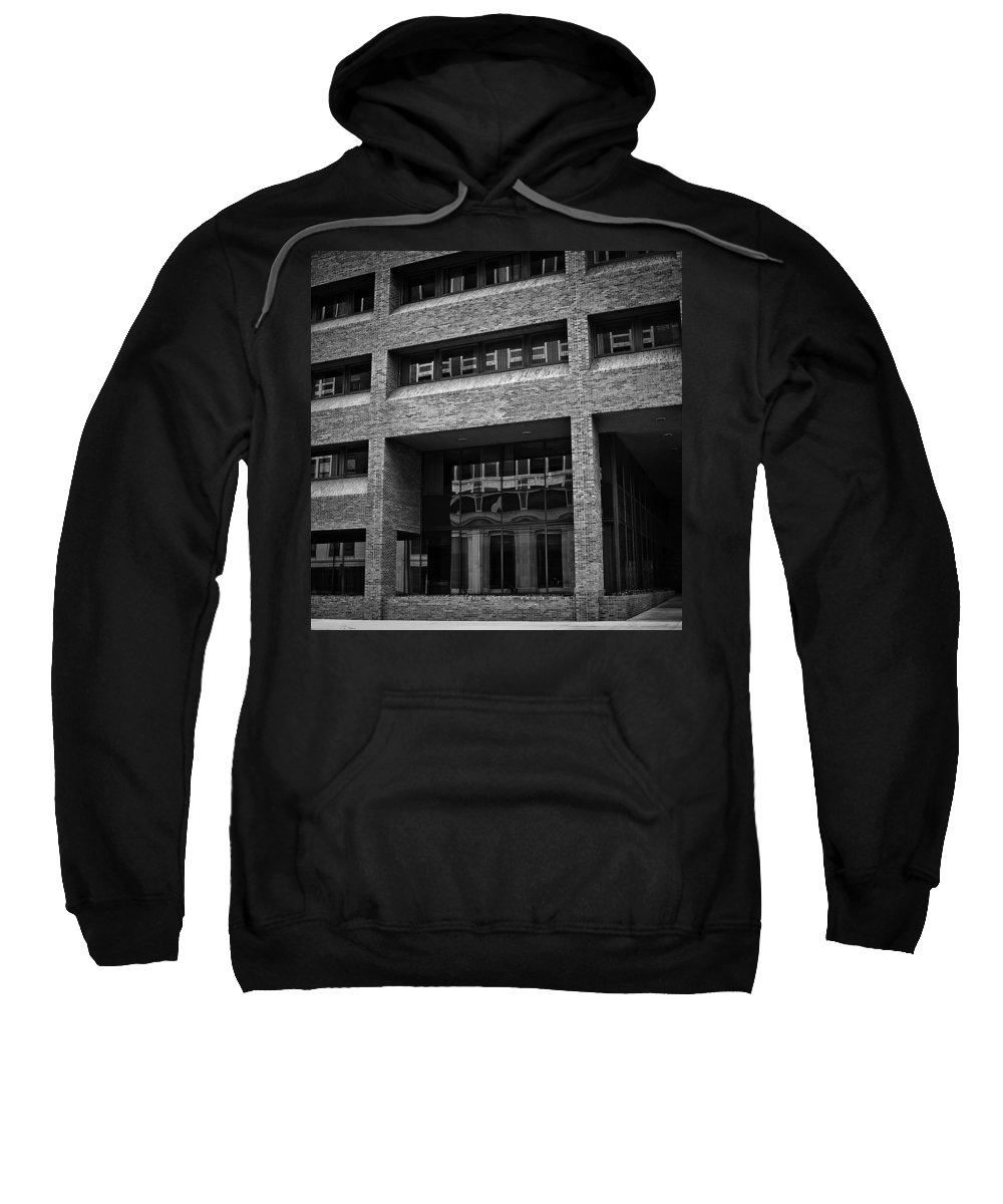 Sioux Falls Sweatshirt featuring the photograph Refections Of Nine Iv by Mike Oistad