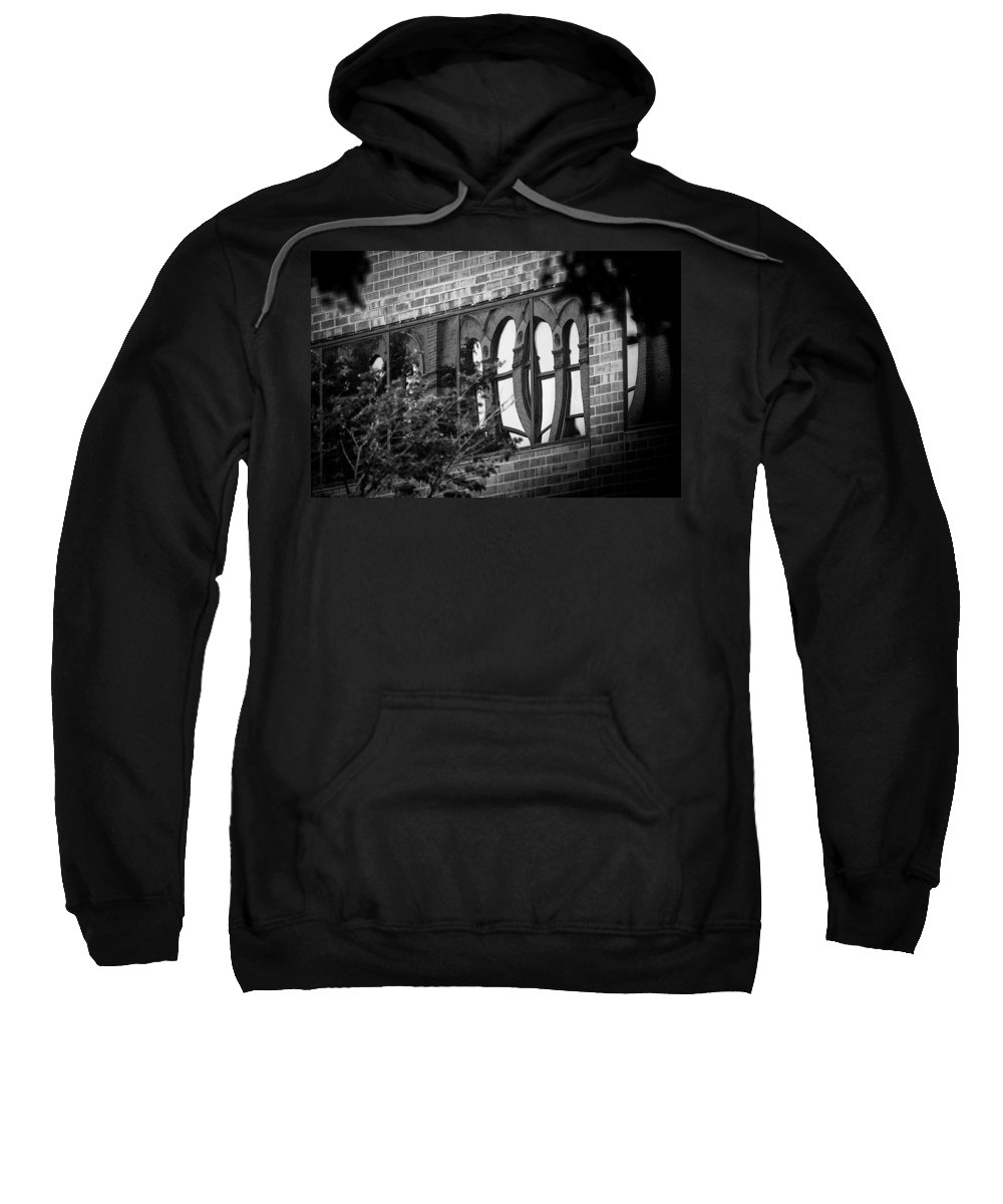 Sioux Falls Sweatshirt featuring the photograph Refections Of Old And New by Mike Oistad