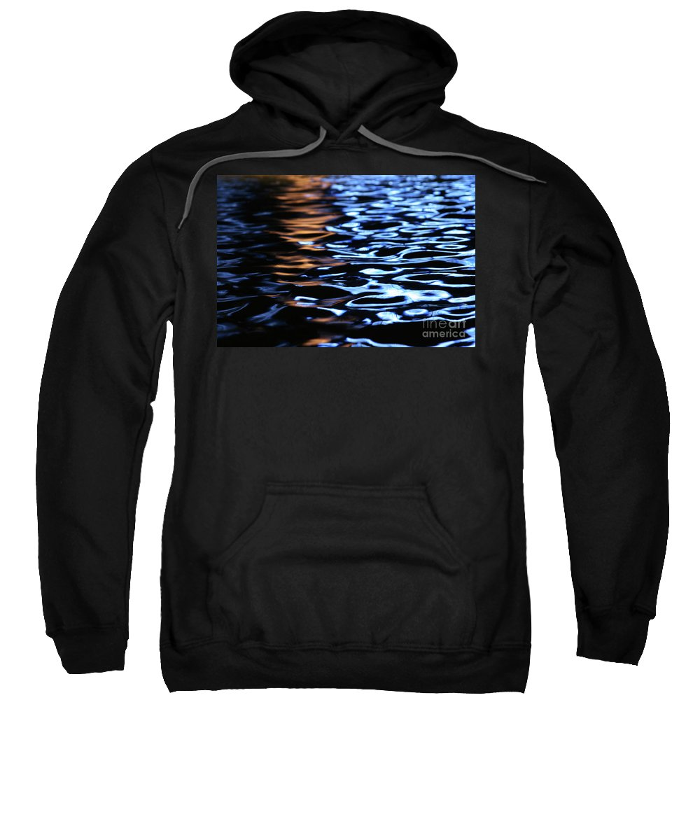 Reflection Sweatshirt featuring the photograph Reflection In Fountain by Karol Livote