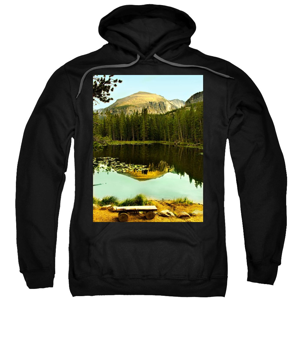 Reflection Sweatshirt featuring the photograph Reflection by Marilyn Hunt