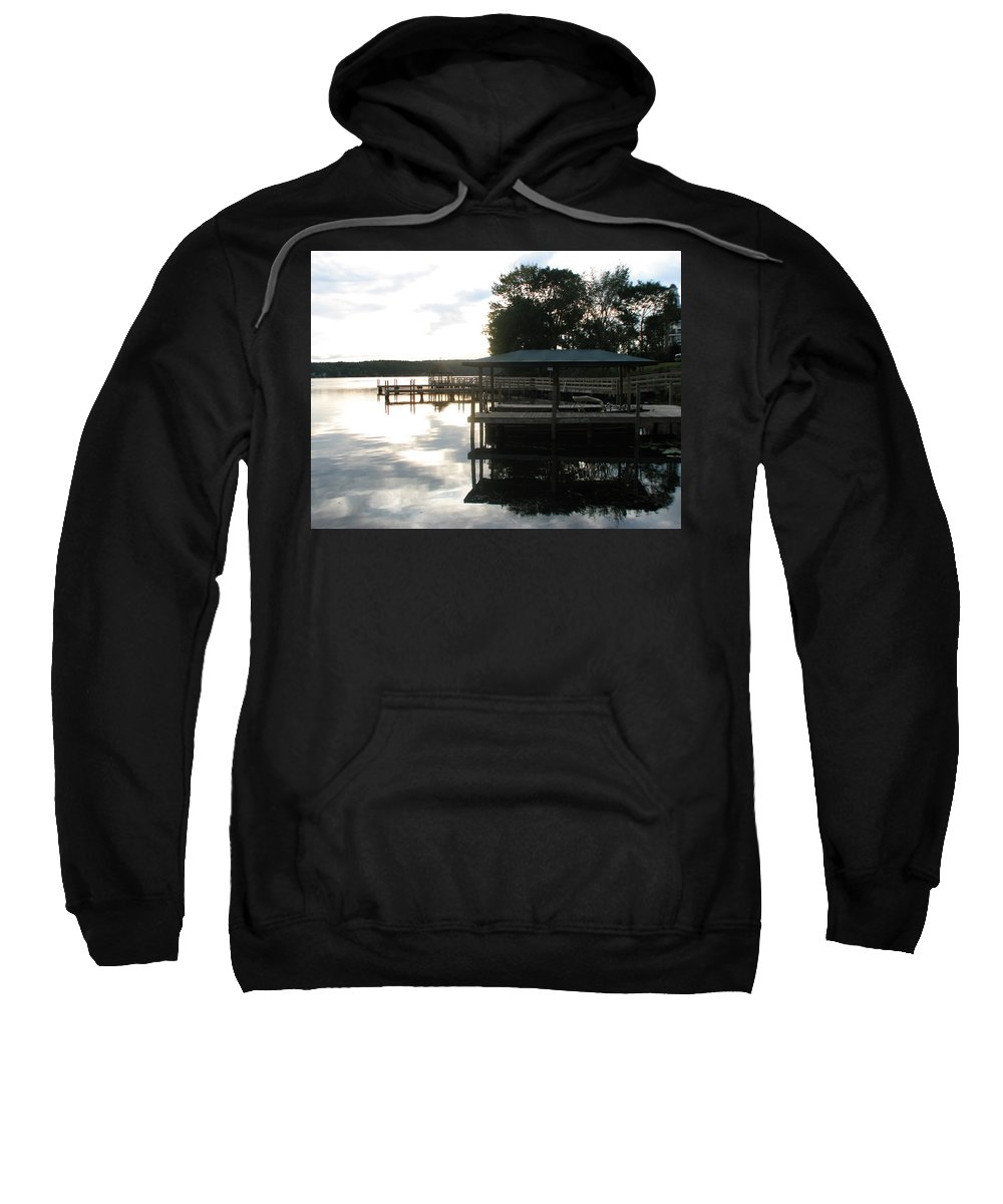 Meredith Nh Sweatshirt featuring the photograph Reflection by Michael Mooney