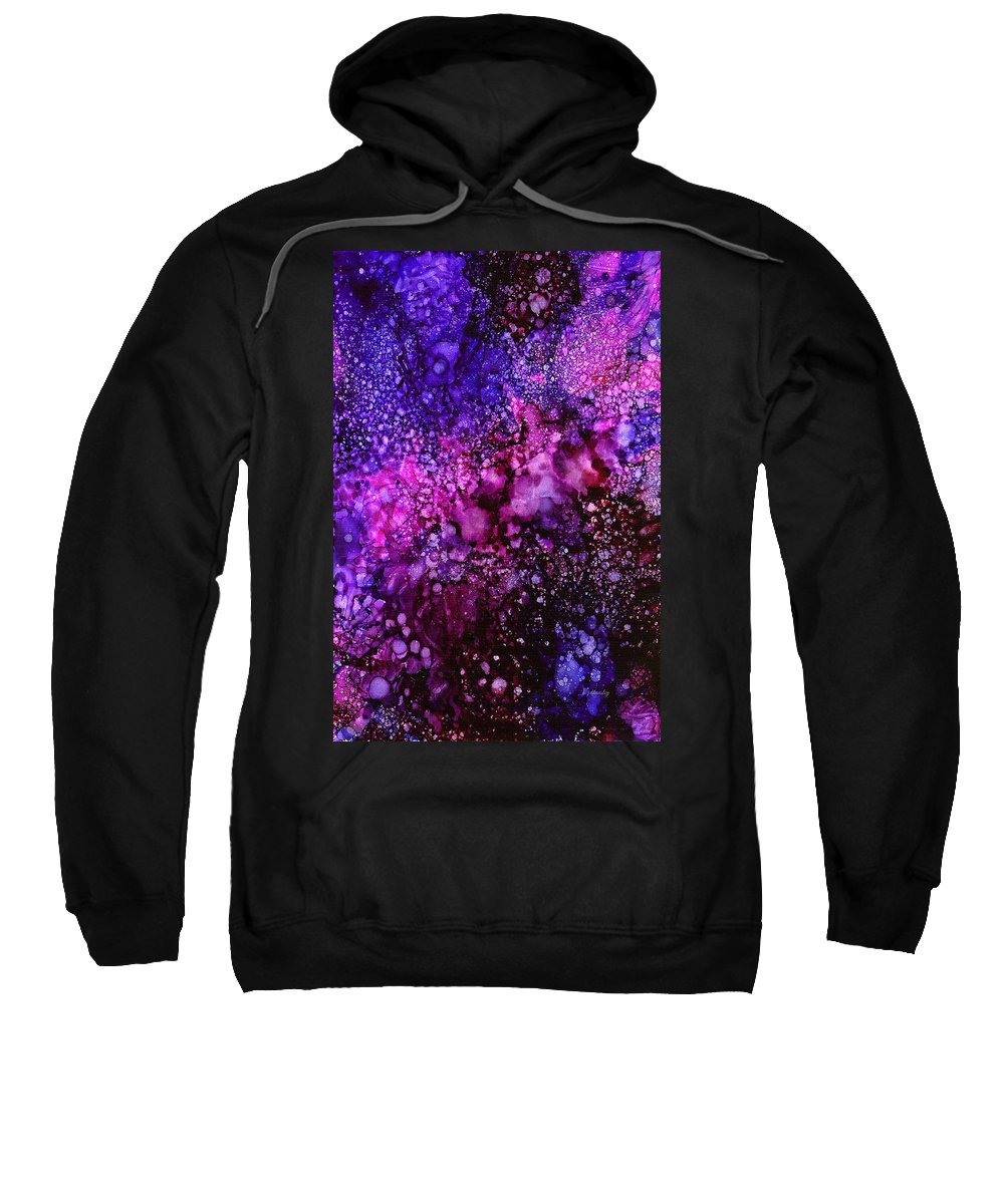 Color Sweatshirt featuring the painting Reflection by Peggie Hensley