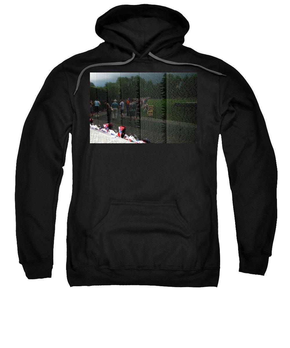 sacrifice Sweatshirt featuring the photograph Reflections Of Sacrifice by Paul Mangold