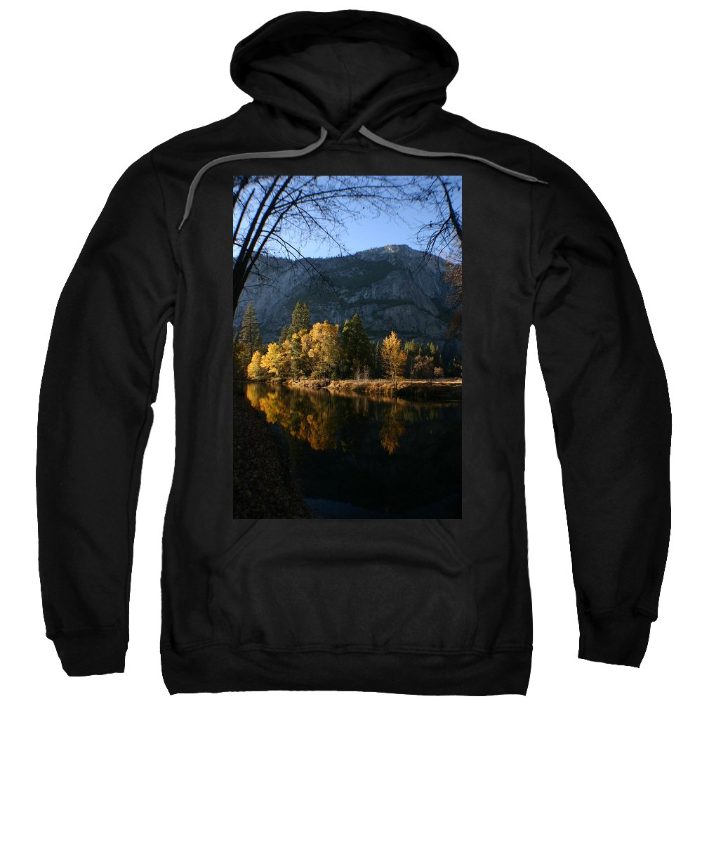 Yosemite Sweatshirt featuring the photograph Reflections by Travis Day
