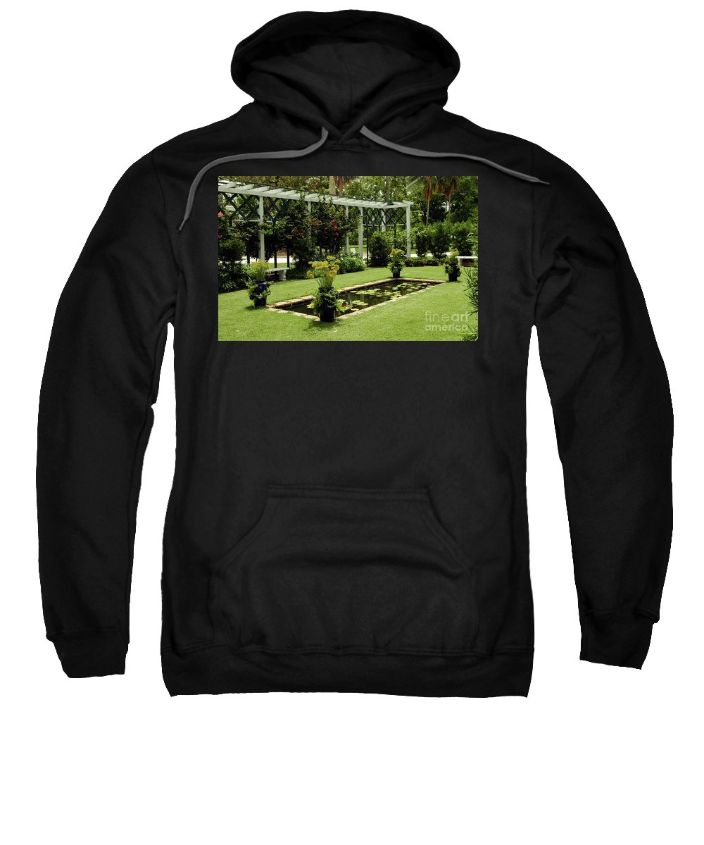 #garde # Sweatshirt featuring the photograph Reflective Pond by Kathleen Struckle