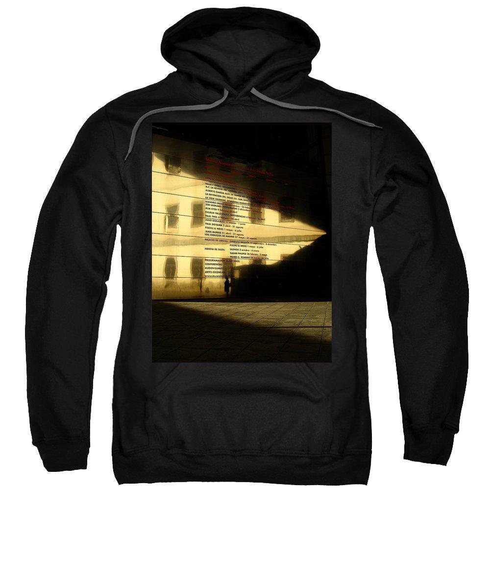 Spain Sweatshirt featuring the photograph Reina Sofia by Osvaldo Hamer