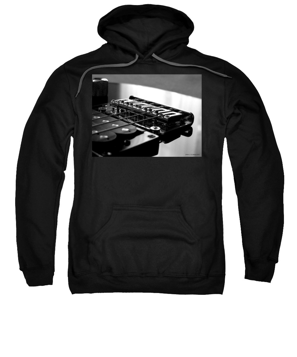 Electric Guitar Sweatshirt featuring the photograph Resonance 2 by Jennie Richards