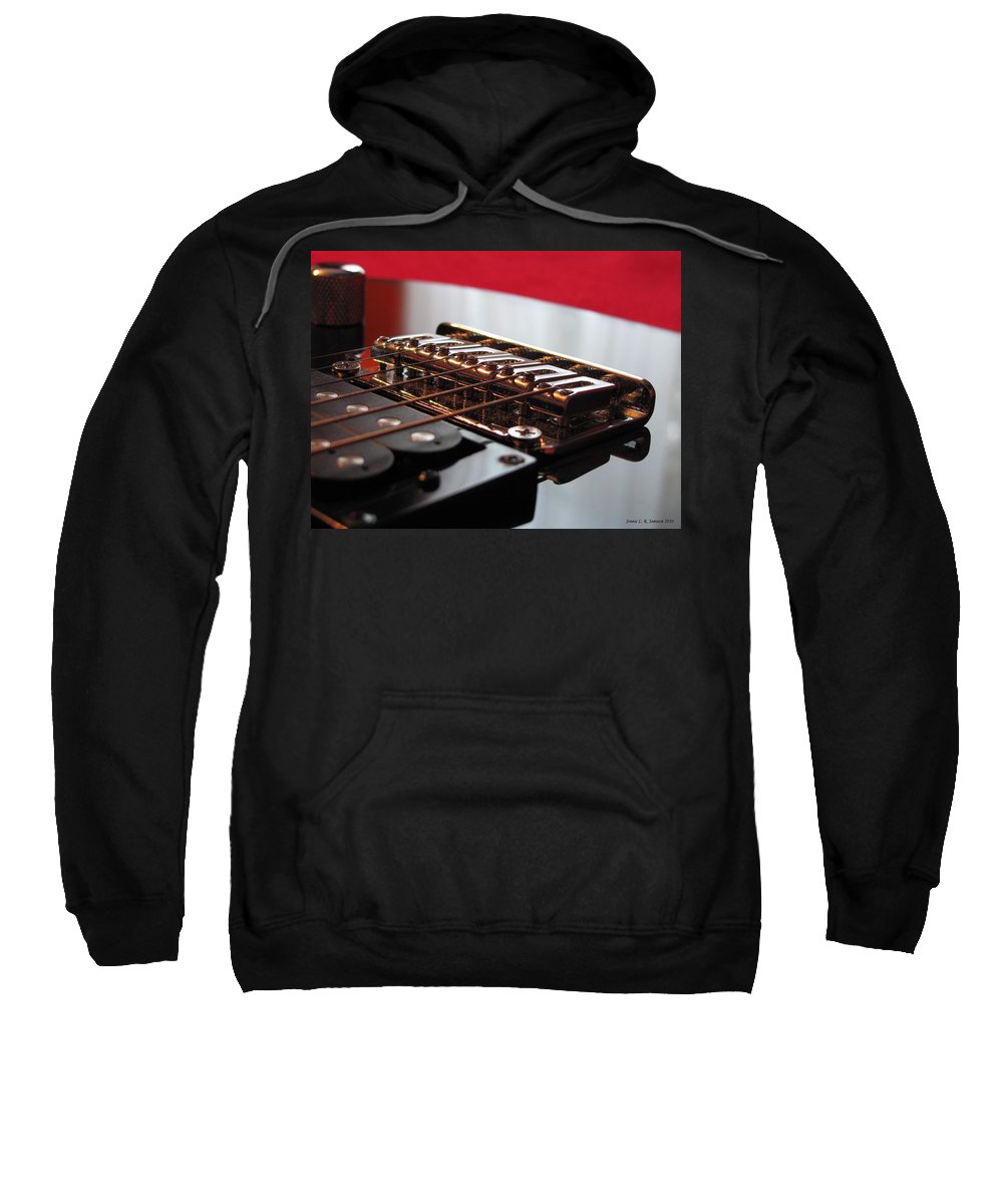 Electric Guitar Sweatshirt featuring the photograph Resonance by Jennie Richards