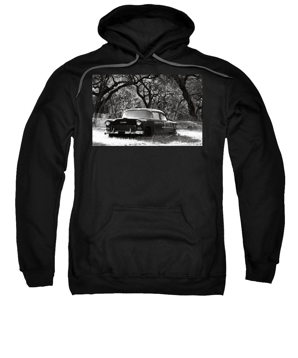 Americana Sweatshirt featuring the photograph Resting Amongst The Oaks by Marilyn Hunt