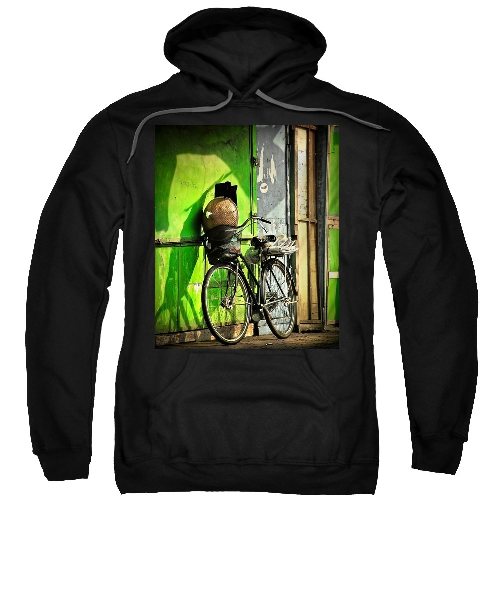Sweatshirt featuring the photograph Resting by Charuhas Images