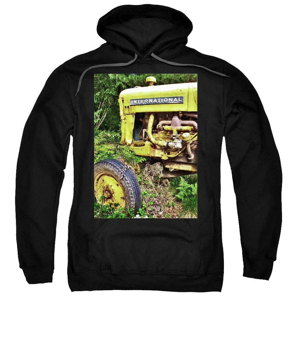 International Sweatshirt featuring the photograph Retired by Wendy Rickwalt