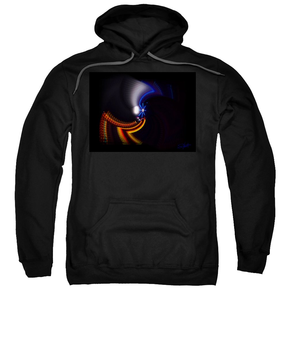 Chaos Sweatshirt featuring the photograph Ride by Charles Stuart