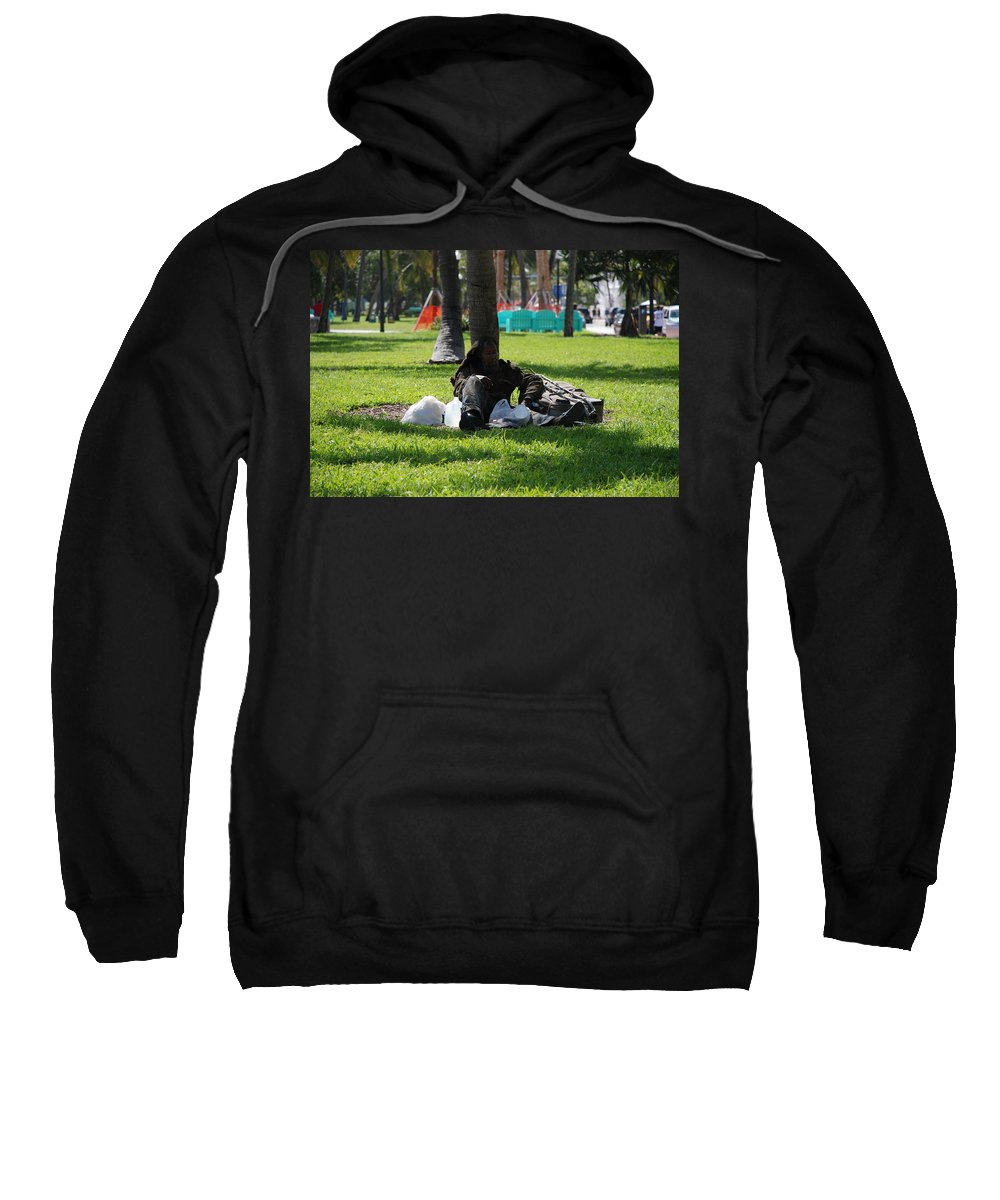 Urban Sweatshirt featuring the photograph Rip Van Winkle by Rob Hans
