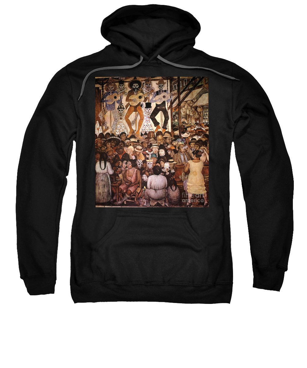 20th Century Sweatshirt featuring the photograph Rivera: Day Of The Dead by Granger