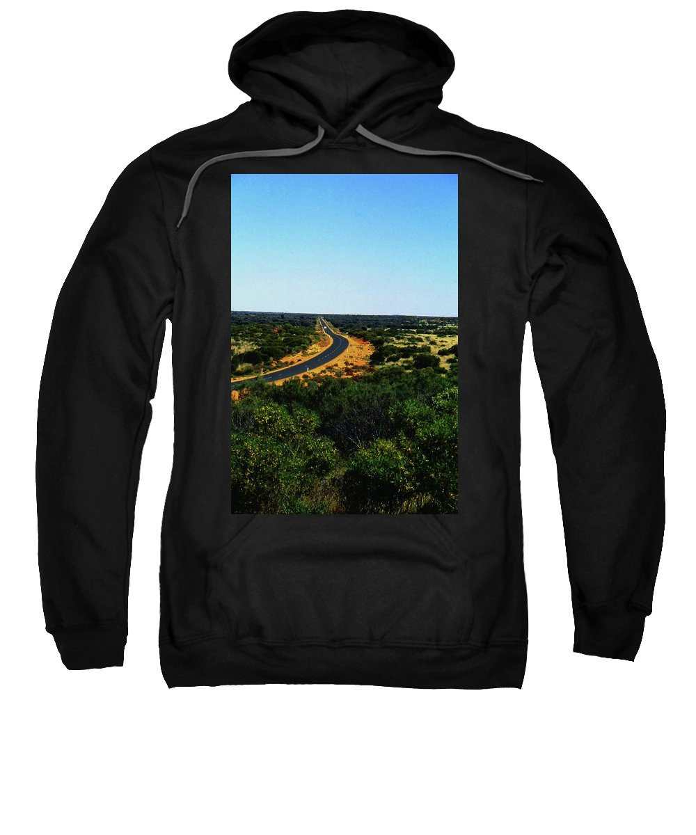Australia Sweatshirt featuring the photograph Road To Nowhere by Gary Wonning