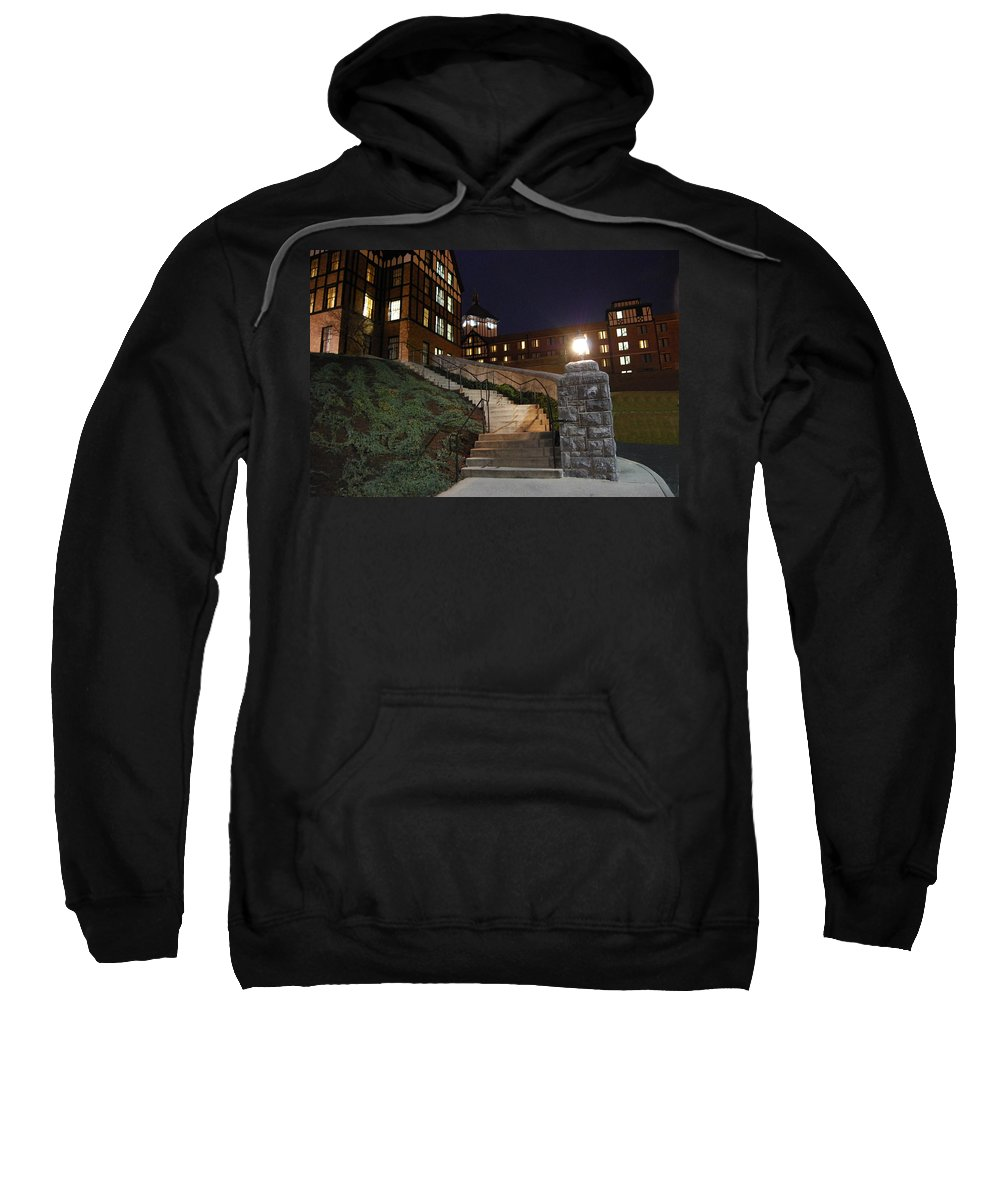 Steps Sweatshirt featuring the photograph Roanoke Steps by Eric Liller