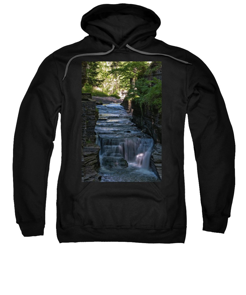 Water Sweatshirt featuring the photograph Robert Treman 0512 by Guy Whiteley