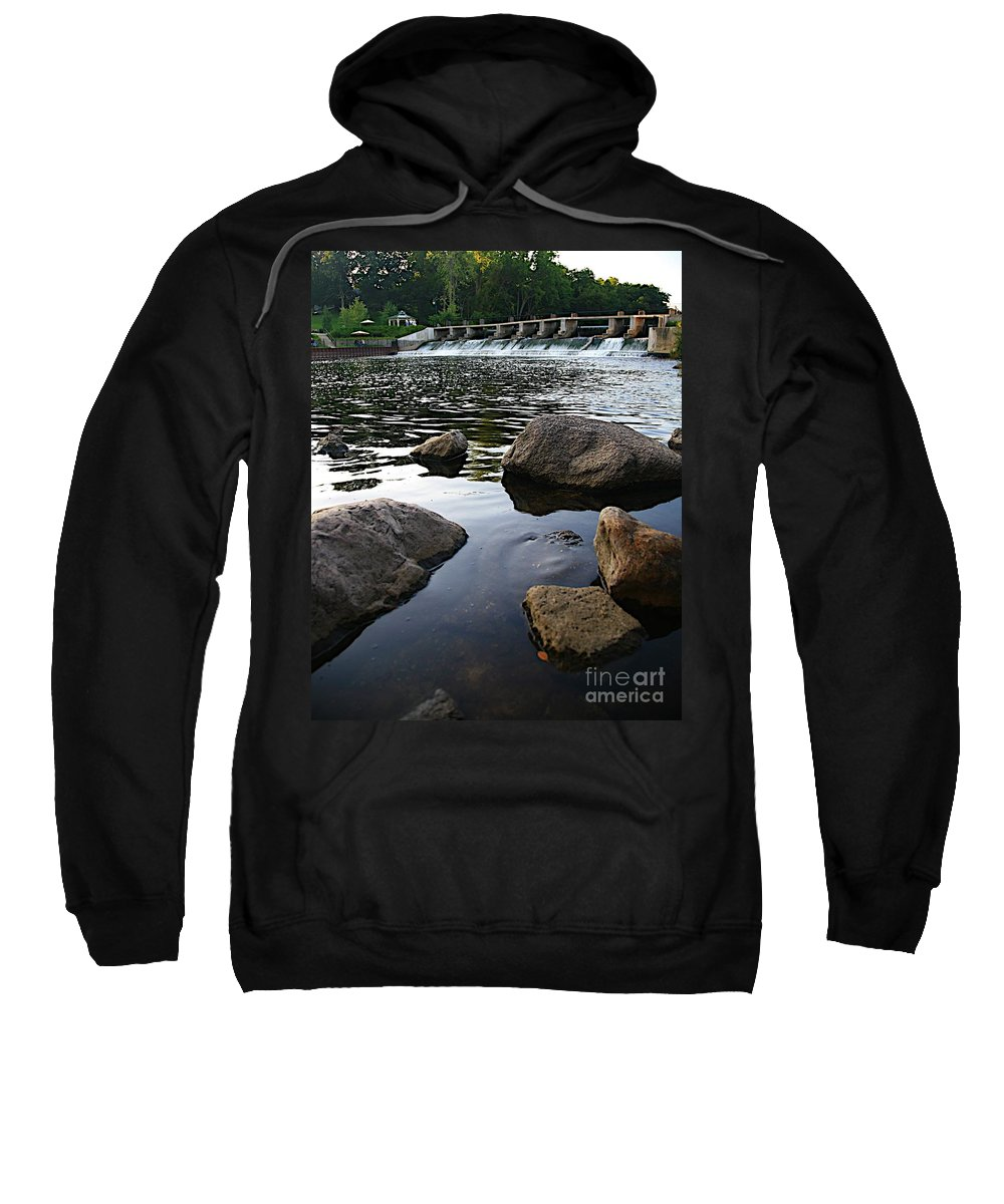 Places Sweatshirt featuring the photograph Rockford Mi-2 by Robert Pearson