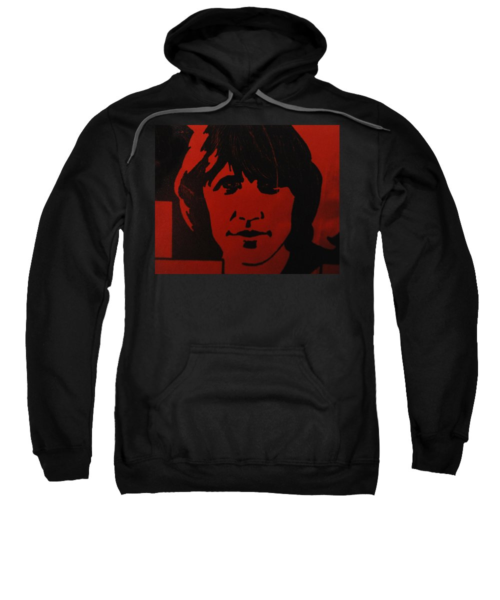 Abstract Sweatshirt featuring the photograph Roger Waters by Rob Hans