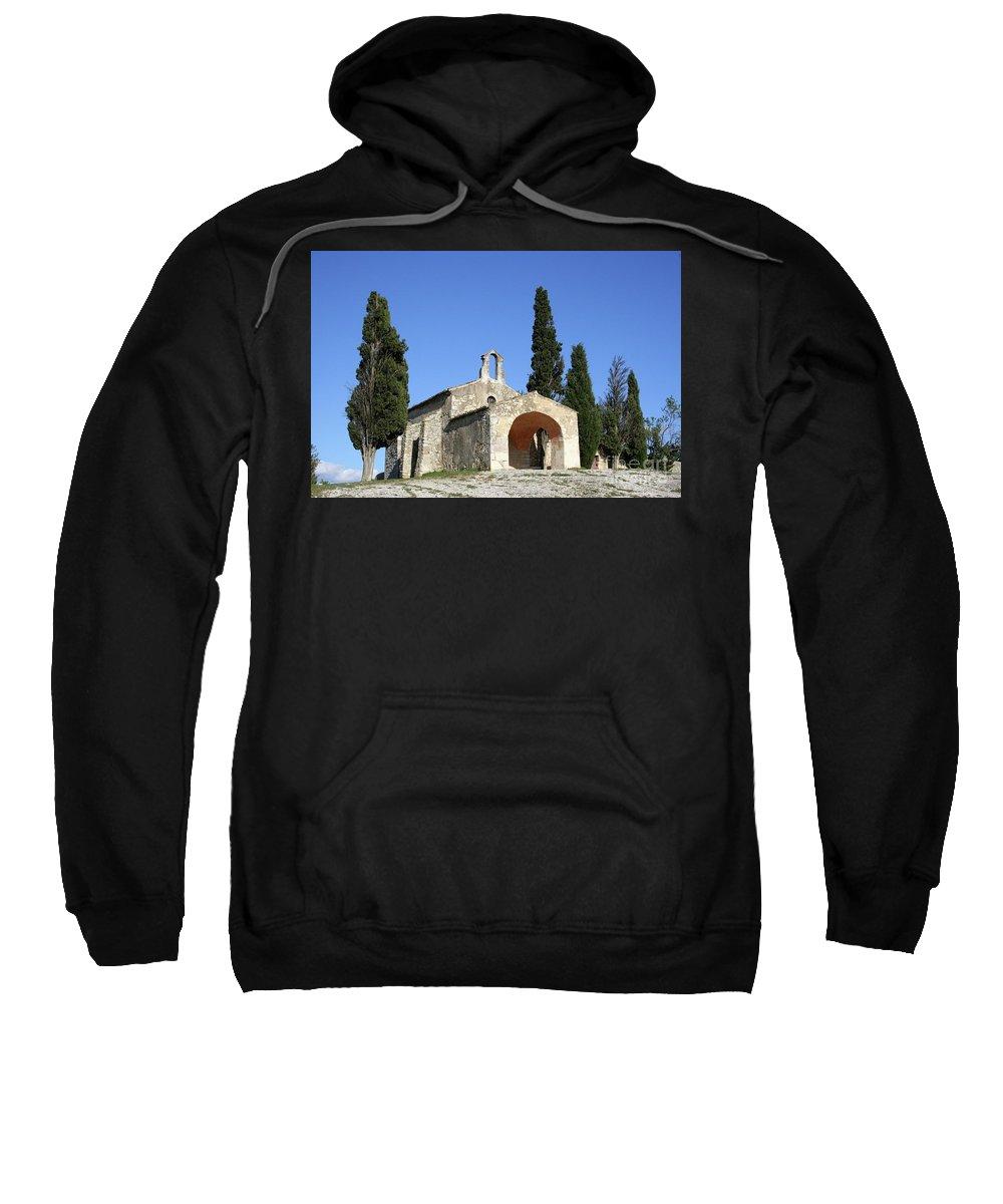 Chapel Sweatshirt featuring the photograph Romanesque Chapel Saint Sixte by Christiane Schulze Art And Photography